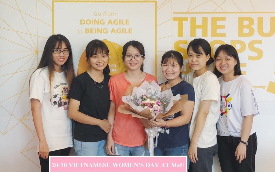 vietnamese woman day 2018 at meu solutions