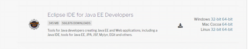 eclipse IDE for java EE developer-meu solutions