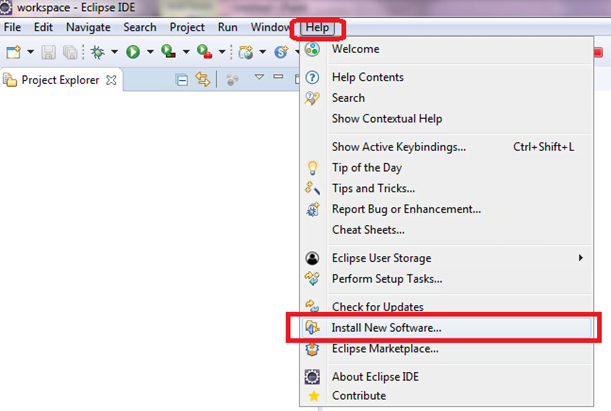 install new software in eclipse-meu solutions